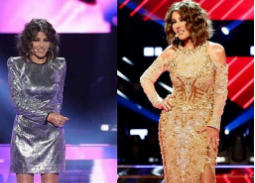 سميرة سعيد بالفضي والذهبي في نهائي The Voice
