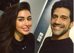 """ياسمين صبري مع أحمد مجدي في تحضيرات مسلسل """"فرصة ثانية"""""""