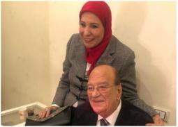 بالفيديو- أخر لقاء إعلامي للفنان حسن حسني وزوجته