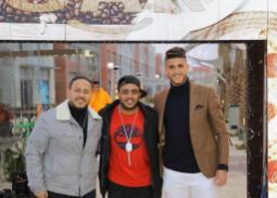 خاص بالصور - نجوم الأهلي في افتتاح مطعم كريم عفيفي وأحمد الشيخ