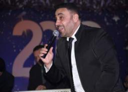 بالصور- مجد القاسم يشعل حفل رأس السنة بالقاهرة