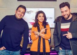 خاص بالصور- ياسمين علي تبدأ تسجيل ألبومها وعلاقة مدين وتامر حسين به