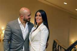زوجة العسيلي عن صورته في شهر العسل: مش عارفه ماله !