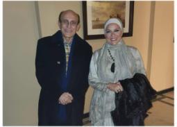 صور- بالتفصيل... رأي دعاء فاروق في محمد صبحي