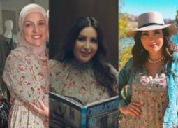 فستان النجوم... ممثلة ومطربة ومذيعة بنفس الإطلالة!
