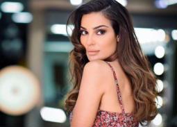 """فيديو- نادين نسيب نجيم ترقص على مهرجان """"بنت الجيران"""""""