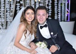 محمد علي رزق وزوجته