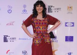 النجوم في ختام مهرجان أسوان لأفلام المرأة