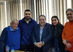 تصالح محمد الشرنوبي مع سارة الطباخ برعاية غرفة صناعة السينما