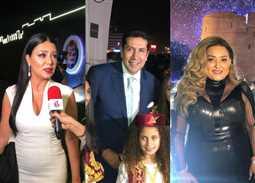 صور- حضور مصري كبير في افتتاح الدورة الثالثة لمهرجان الفجيرة للفنون