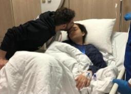 ابنة أحمد زاهر تخضع لعملية جراحية