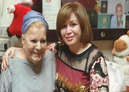في ذكرى الأربعين... هكذا رثت إلهام شاهين نادية لطفي