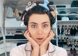 فيديو- عرض أزياء لـ ستيفاني صليبا  بالبيجاما