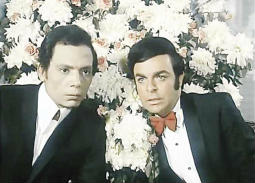"""سمير صبري وعادل إمام يعيدان هذا المشهد في """"فالنتينو"""" بعد 47 عاما!"""