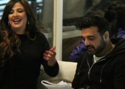 """عمرو محمود ياسين ينشر محادثات مع ياسمين عبد العزيز قبل التحضير لـ""""ونحب تاني ليه"""""""