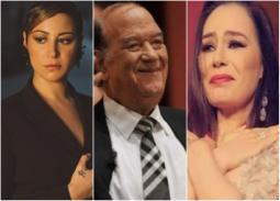 شريهان ومنة شلبي تنعيان حسن حسني