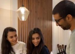فيديو- كارمن سليمان تشارك جمهورها بتحدي طريف