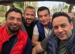 حميد الشاعري ، هشام عباس ، مصطفى قمر ، إيهاب توفيق