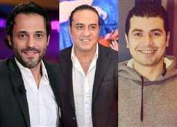 محمد أنور وخالد سرحان ويوسف الشريف