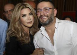 فيديو - بالغناء والقبلات زياد برجي يحتفل بعيد ميلاد نوال الزغبي