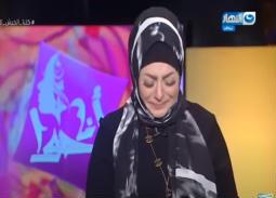 فيديو- تأثر وبكاء ميار الببلاوي على الهواء في أول ظهور بعد وفاة شقيقها