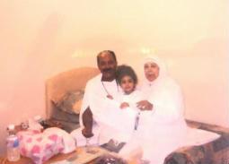 صور نادرة لـ رجاء الجداوي في الحج مع زوجها وحفيدتها