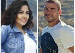 عمرو دياب ومي كساب