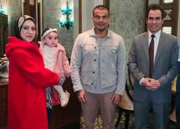 أحمد المسلماني وعمرو دياب
