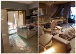 انفجار بيروت يدمر منازل الفنانين.. هذه الفنانة تصاب بجروح خطيرة