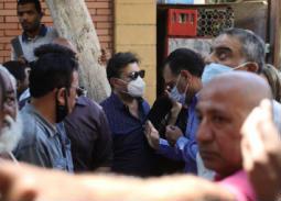 صور جنازة سمير الإسكندراني