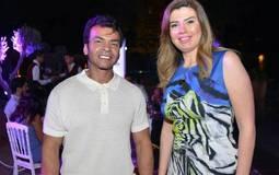 رانيا فريد شوقي ومحمد محي