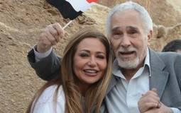 ليلى علوي مع عبد الرحمن أبو زهرة
