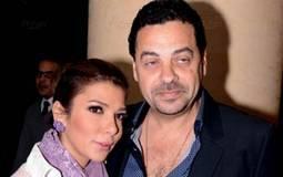 مخرج الفيلم طارق العريان مع زوجته أصالة