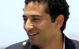 صورة- عمرو سعد يستكمل مسيرة الفنانين ويدعم مصر للطيران