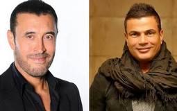عمرو دياب وكاظم الساهر