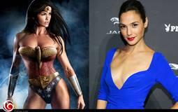 """إسرائيلية تثير استنكار محبو """"باتمان"""" و""""سوبر مان"""" لتجسيدها Wonder Woman"""