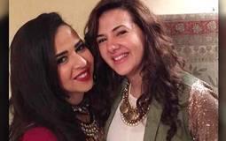 هكذا عايدت دنيا سمير غانم شقيقتها بمناسبة عيد ميلادها