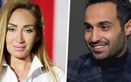 """بالفيديو- أحمد فهمي يعتذر لريهام سعيد عن ذكره لاسمها في مسلسله """"ريّح المدام"""" وهكذا ردّت عليه"""