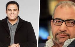 بالفيديو- أكرم حسني يرد على سخرية بيومي فؤاد منه بالاستعانة بابنه