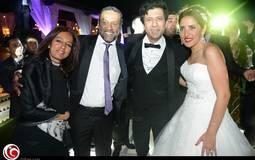 إياد نصار مع عروسه الجديدة