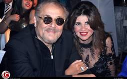 محمود عبد العزيز وزوجته بوسي شلبي على رأس الحضور.