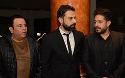 محمد حماقي بجانب أمير طعيمة ومحمد فؤاد