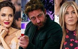 بالفيديو-  جيرارد باتلر يختار القُبلة الأفضل: جينيفر أنستون أم أنجلينا جولي؟
