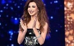 نانسي عجرم بفستان مميز من تصميم زهير مراد