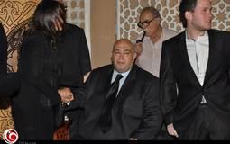 مروة حسين بجانب زوجها عماد الدين أديب