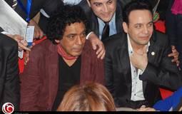 نجما الغناء مصطفى قمر ومحمد منير