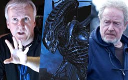 جيمس كاميرون وفيلم Aliens