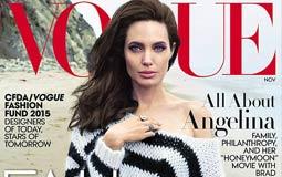 أنجيلينا جولي على غلاف مجلة Vogue لنوفمبر 2015