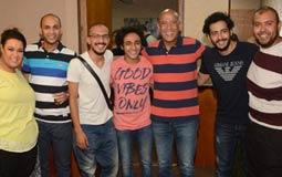 اشرف عبدالباقي يقيم حفل افطار لمسرح مصر استعدادا للموسم الجديد
