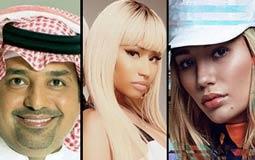 """#سباق_الأغاني.. الأغاني الأكثر شهرة على """"YouTube السعودية"""" في نهاية الأسبوع الـ 15 من عام ٢٠١٦"""